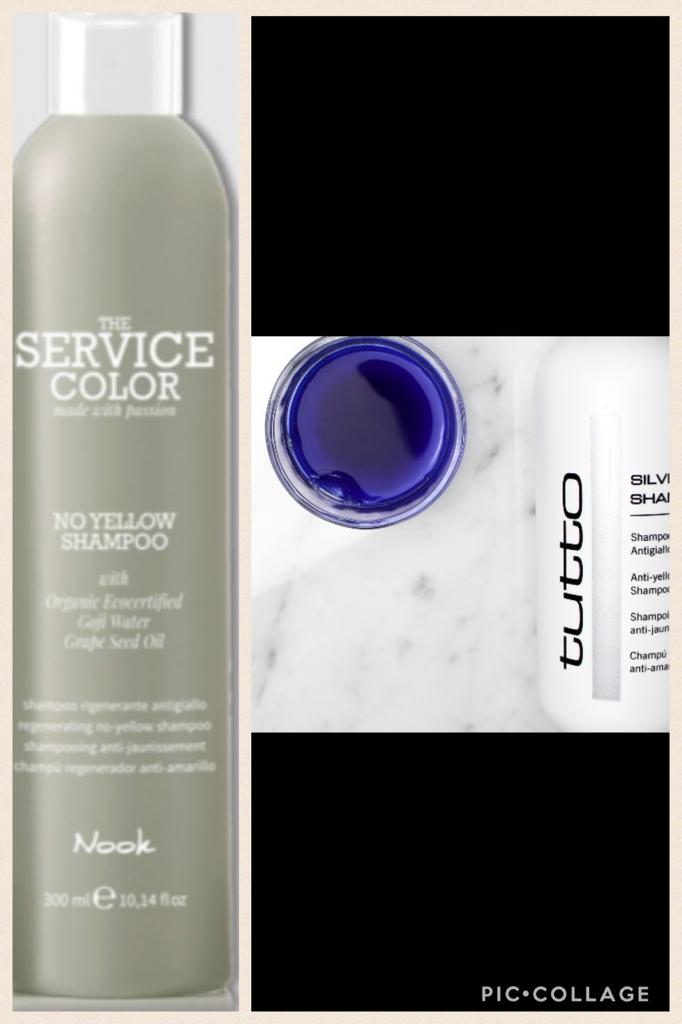 """Silver shampoo """"Nook / Tutto"""""""