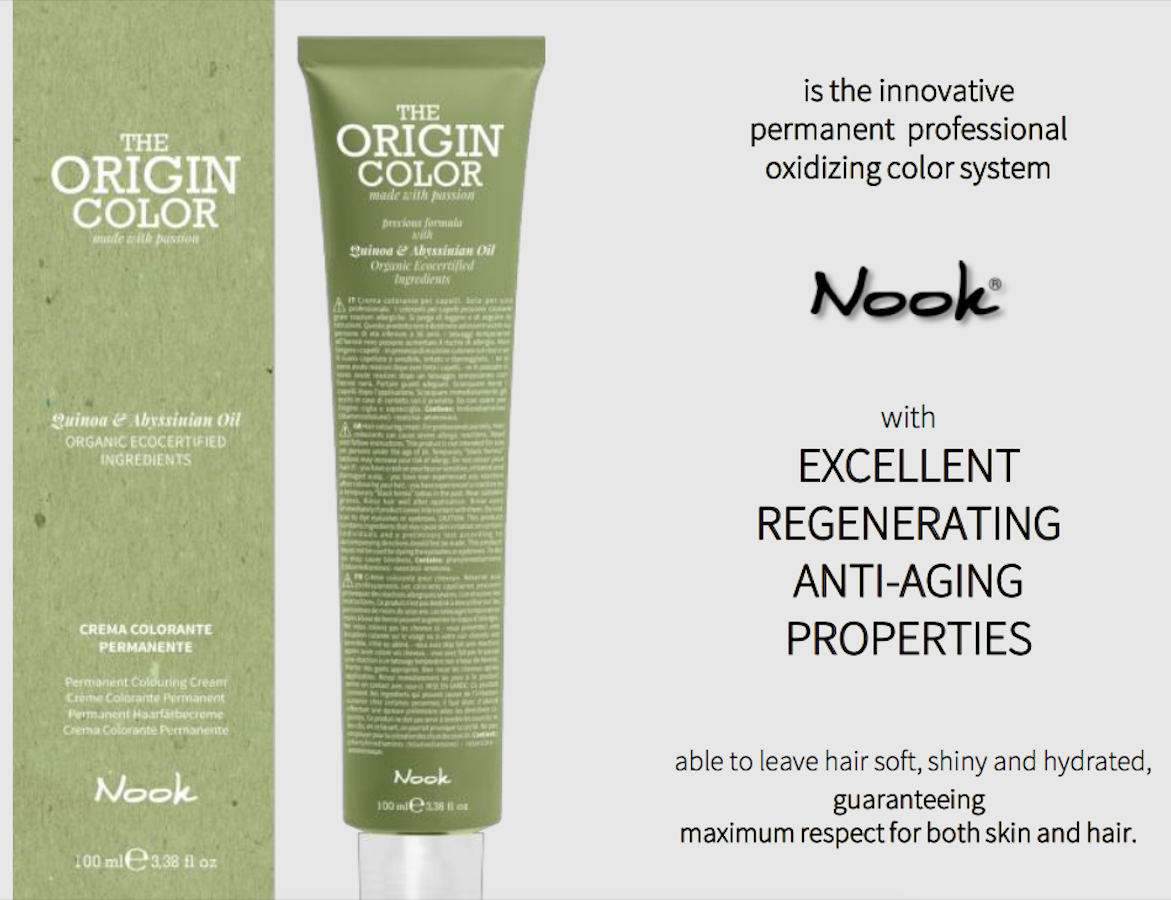 Nook Origin Color 100 ml. med reduceret ammoniak
