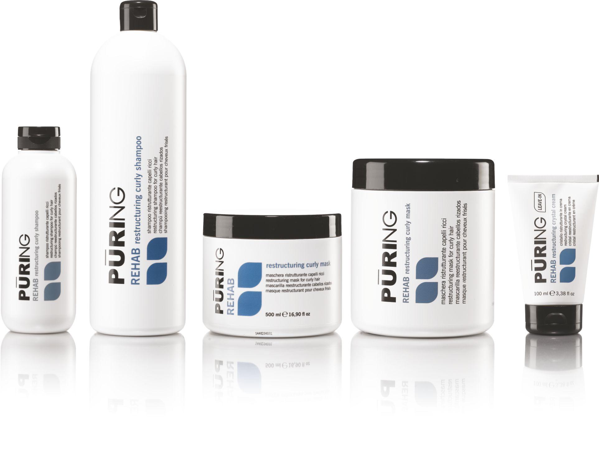 rehab - til krøllet hår / anti frizz