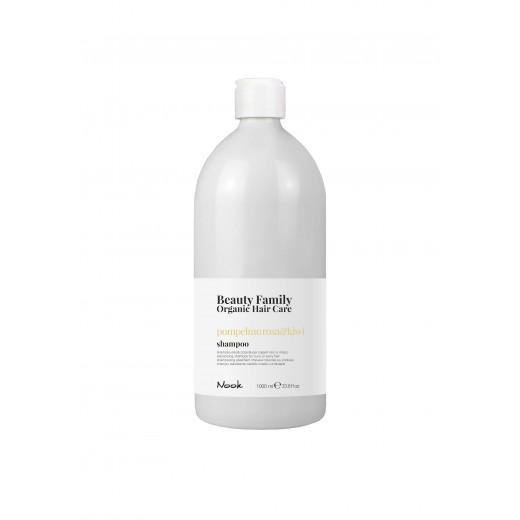 Nook Beauty Family Organic shampoo (pompelmo rosaandkiwi) til krøllet eller wave hår hår. 1000 ml.-31