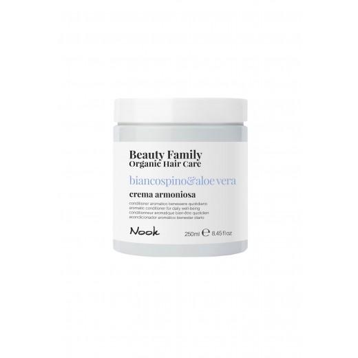 Nook Beauty Family Organic conditioner (basilicoandmandorla) til tørt og træt hår 250 ml.-31