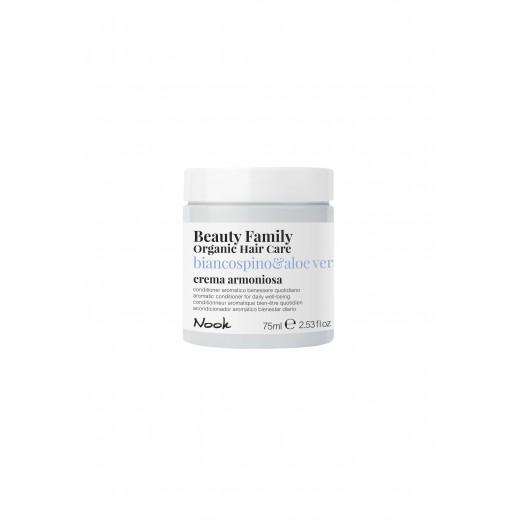 Nook Beauty Family Organic conditioner (biancospinoandaloe vera) til dagligt brug. 75 ml.-31