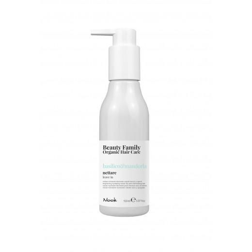 Nook Beauty Family Organic leave in cream (basilicoandmandorla) til tørt og træt hår 150 ml.-31