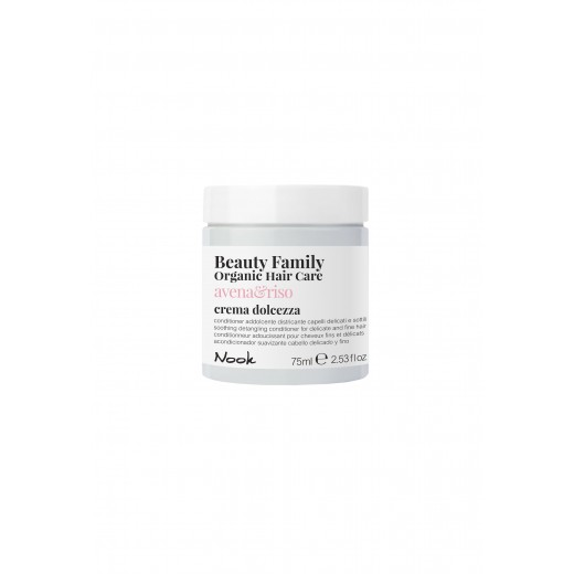 Nook Beauty Family Organic conditioner (avenaandriso) til fint hår. 75 ml.-31