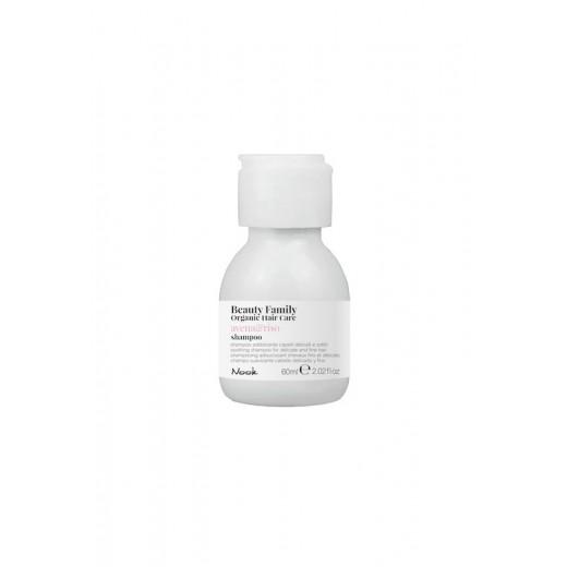 Nook Beauty Family Organic shampoo (avenaandriso) til fint hår. 60 ml.-31