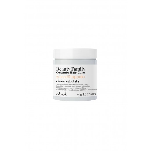Nook Beauty Family Organic conditioner (zuccaandluppolo) FOR STRAIGHT AND FRIZZY HAIR. 75 ml.-31