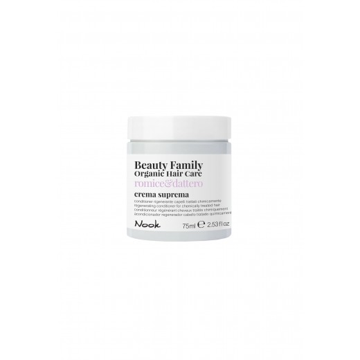 Nook Beauty Family Organic conditioner (romiceanddattero) til kemisk behandlet hår. 75 ml.-31