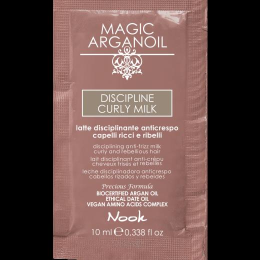 Nook Argan Sachet prøve DISCIPLINE Curly Milk 10 ml-31