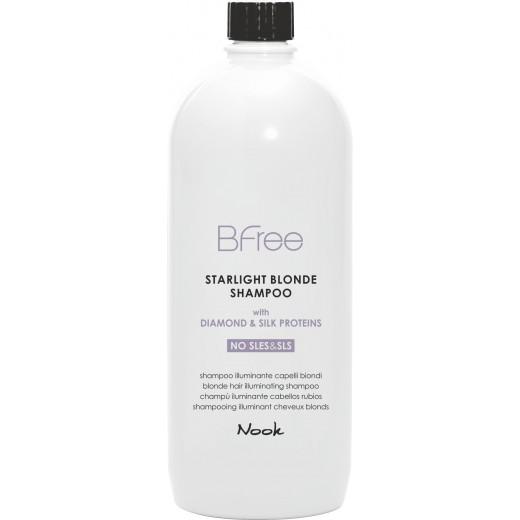 Nook BFree Starlight Blonde Shampoo 1000 ml.-30