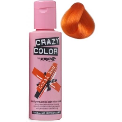 CrazyColorCoralRed57-30