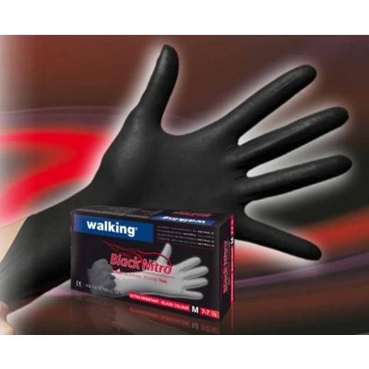 Nitril handsker SORT large-3