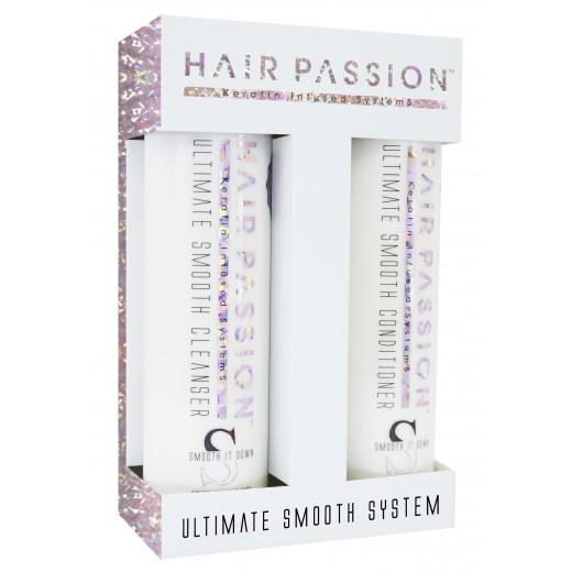 Ultimate Smooth Cleanser shampoo 285 ml / Conditioner 285 ml. vejl 348 kr. Frizz hår-31