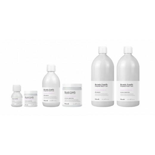 STARTPAKKE TILBUD Nook Beauty Family Organic serie (romiceanddattero) til kemisk behandlet hår.-31
