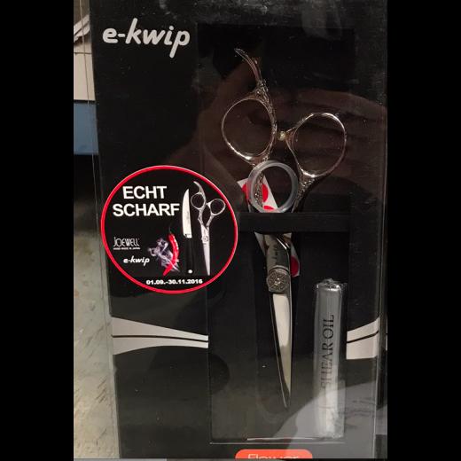 """e-kwip Flower TILBUD 1 stk 5,5"""" klippesaks og få 1 stk. 5,5"""" udtynder med gratis-31"""