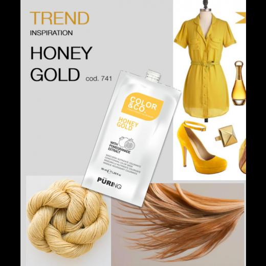 ColorandCo Honey Gold 50 ml. 12 stk i en pk.-32