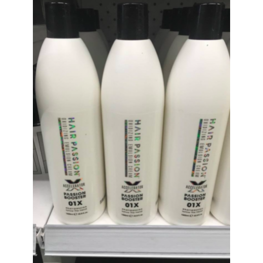 Hairpassion 01X booster oxi beise cream 1000 ml.-31