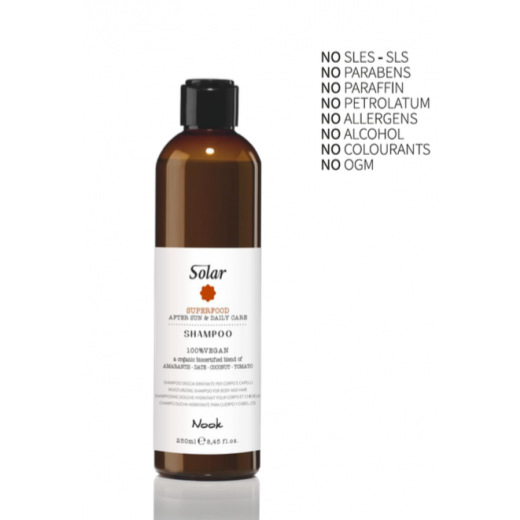 Nook solar hair and body shampoo 250 ml.-31