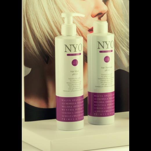 NYO NO YELLOW 2 x 300 ml sæt shampoo og mask.-31