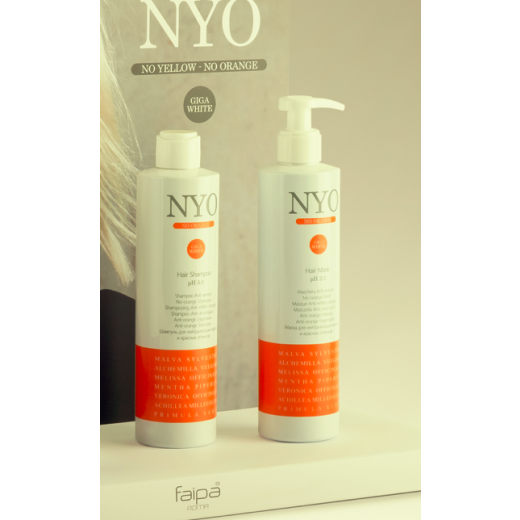 NYO NO Orange 2 x 300 ml sæt shampoo og mask.-31