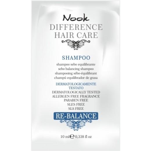 NOOK DHC RE-Balance prøve (fedtet hår/hårbund) shampoo 10 ml.-31