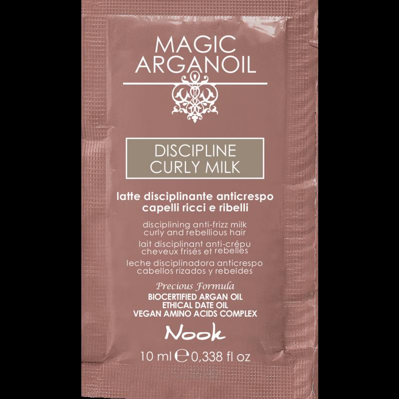 Nook Argan Sachet prøve DISCIPLINE Curly Milk 10 ml
