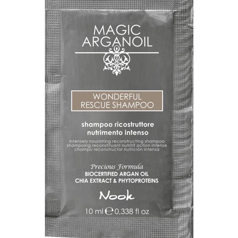 Nook Argan Sachet prøve Wonderfull Shampoo 10 ml