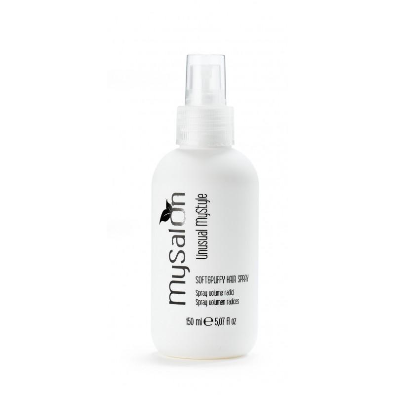 Soft & Puffy hair spray