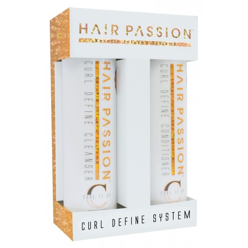 Curl Define Cleanser shampoo 285 ml / Conditioner 285 ml. vejl 348 kr. Krøllet hår