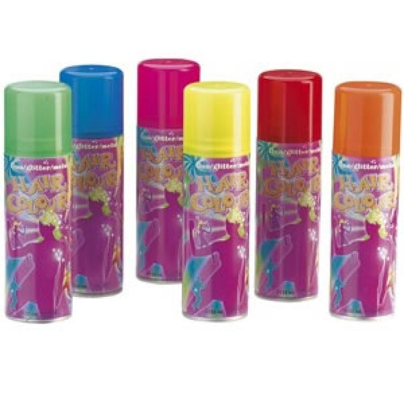 Farvespray Glitterspray Guld 125 ml.