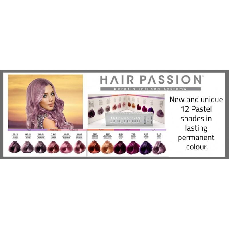 Hairpassion HP Pastel Farvekort