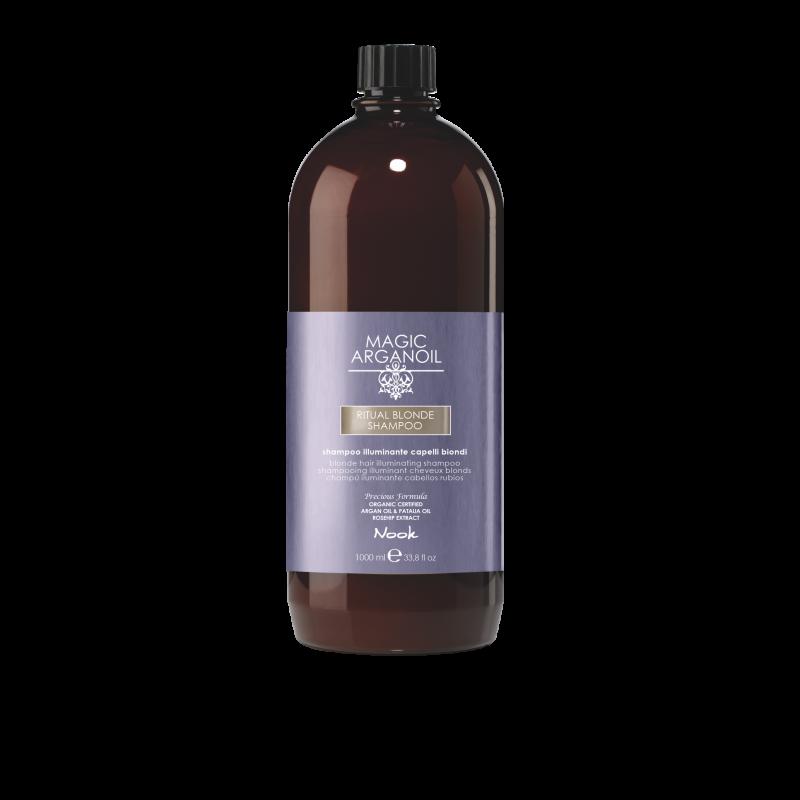Nook argan RITUAL BLONDE 1000 ml Shampoo.