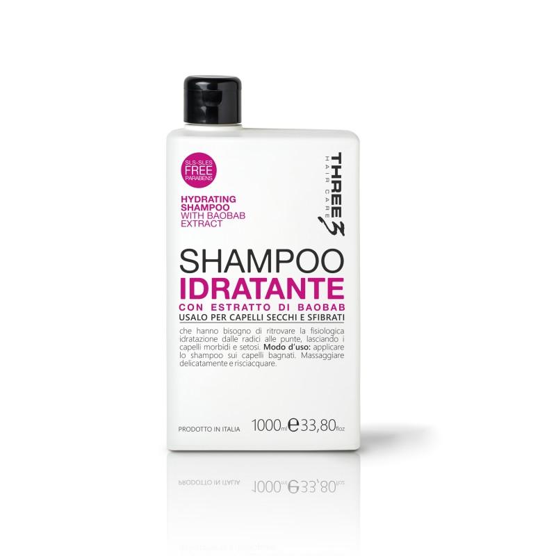 Tree3 Hydrating shampoo 1000 ml.