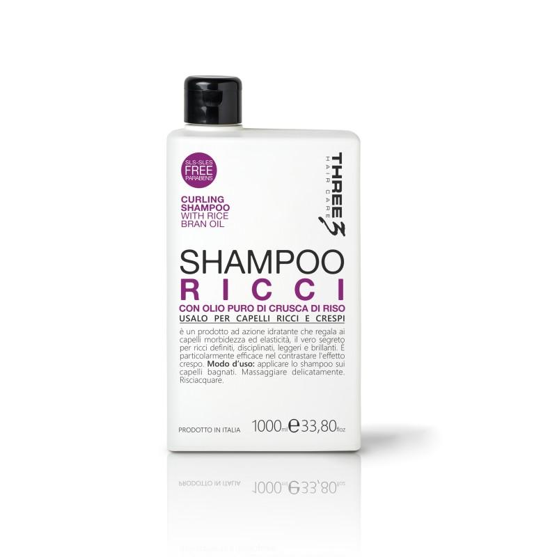 Tree3 Curl shampoo 1000 ml.