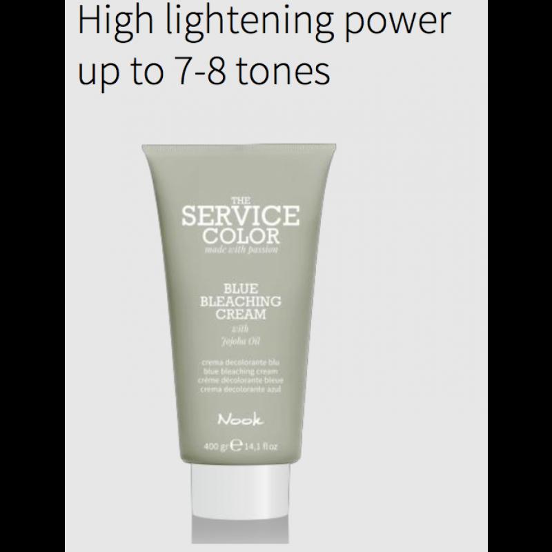 "Nook ""The Service Color"" Lysning Cream 400 gram"