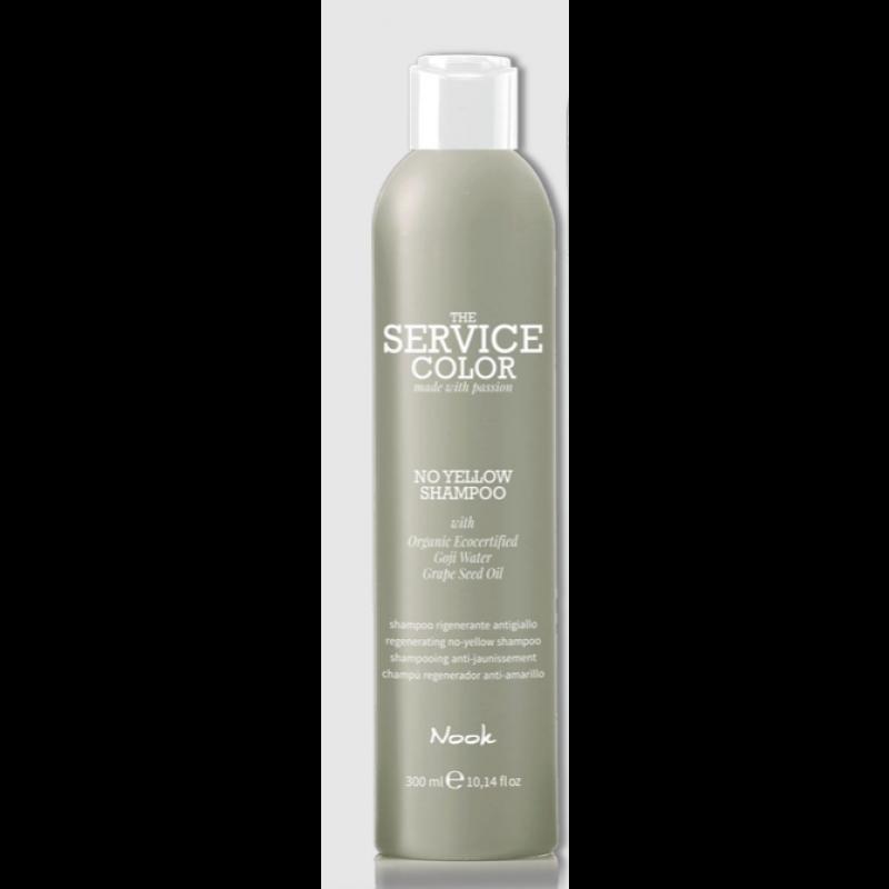"Nook No Yellow ""The service color"" Silver shampoo 300 ml."