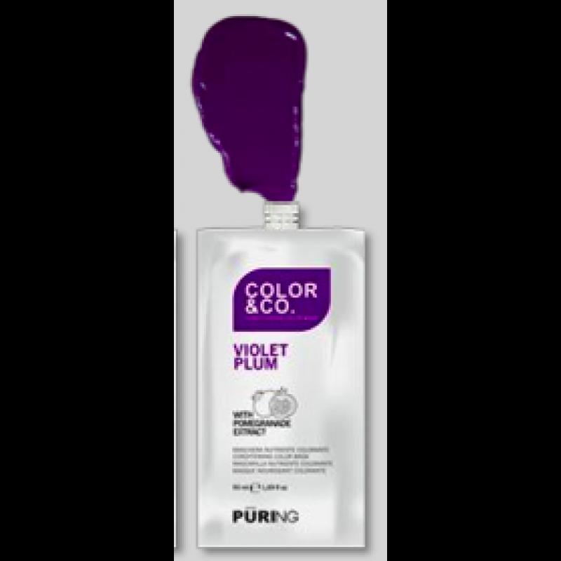 Color&Co Intense VIOLET MASK 50 ml. 12 stk i en pk.