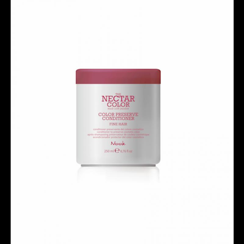 Nook Nectar farvebevarende Conditioner til FINT hår 250 ml.
