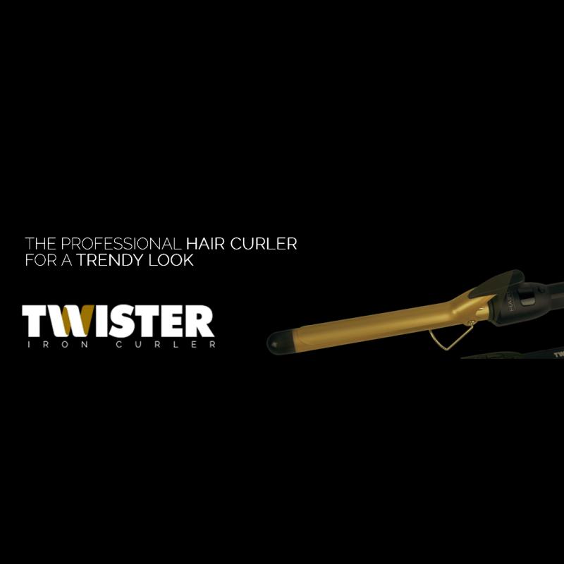 Axima TWISTER krøllejern 32 mm