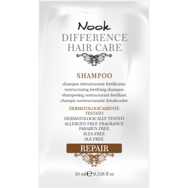 NOOK DHC REPAIR prøve shampoo 10 ml.