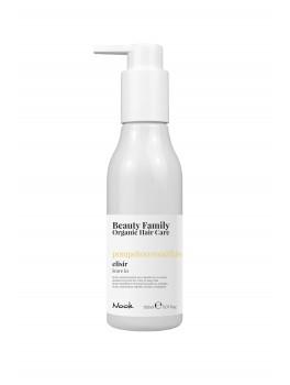 Nook Beauty Family Organic leave in creme (pompelmo rosaandkiwi) til krøllet eller wave hår hår. 150 ml.-20