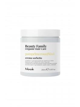 Nook Beauty Family Organic conditioner (pompelmo rosaandkiwi) til krøllet eller wave hår hår. 250 ml.-20