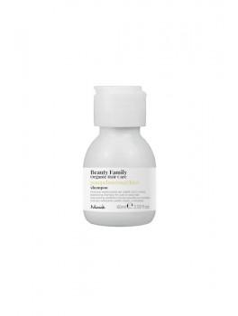 Nook Beauty Family Organic shampoo (pompelmo rosaandkiwi) til krøllet eller wave hår hår. 60 ml.-20
