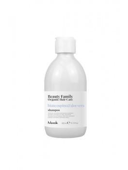 Nook Beauty Family Organic Shampoo (basilicoandmandorla) til tørt og træt hår 300 ml.-20