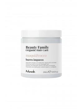Nook Beauty Family Organic mask / kur (maquiandcocco) til tørt og ødelagt hår. 250 ml.-20