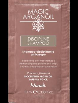 Nook Argan Sachet prøve DISCIPLINE Shampoo 10 ml-20