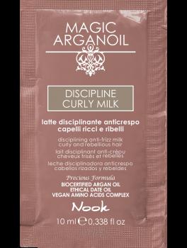 Nook Argan Sachet prøve DISCIPLINE Curly Milk 10 ml-20