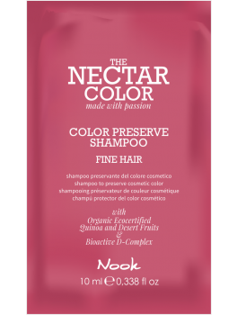 NECTAR COLOR prøve Sachet Color Preserve Shampoo 10 ml Fine Hair-20