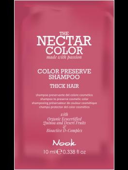NECTAR COLOR prøve Sachet Color Preserve Shampoo prøve 10 ml Thick Hair-20