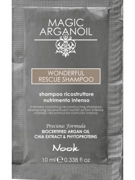 Nook Argan Sachet prøve Wonderfull Shampoo 10 ml-20
