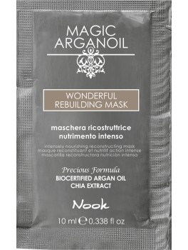 Nook arganoil wonderful rebuilding mask 10 ml.-20